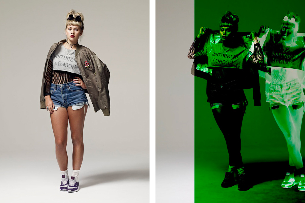Disturbing London x MHI 2012 Spring/Summer Lookbook
