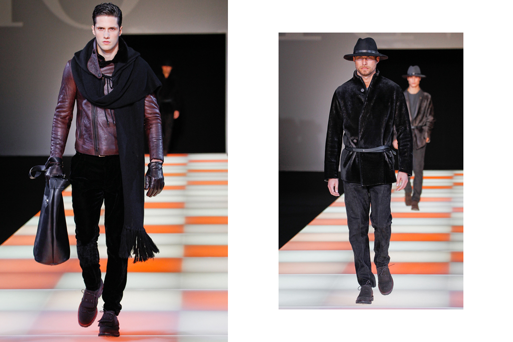 Emporio Armani 2012 Fall/Winter Collection