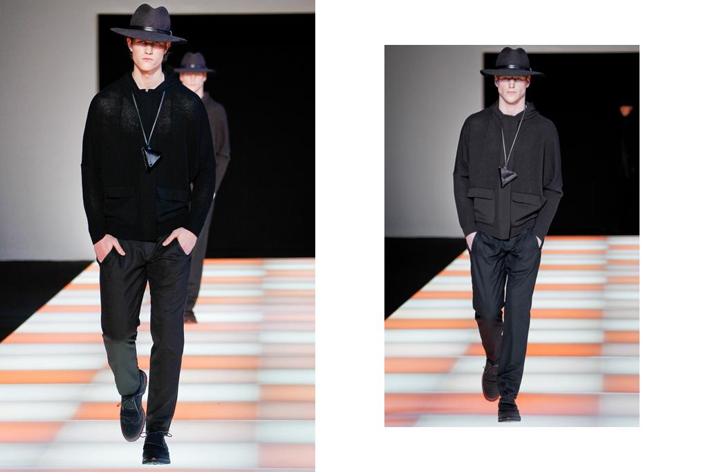 emporio armani 2012 fallwinter collection