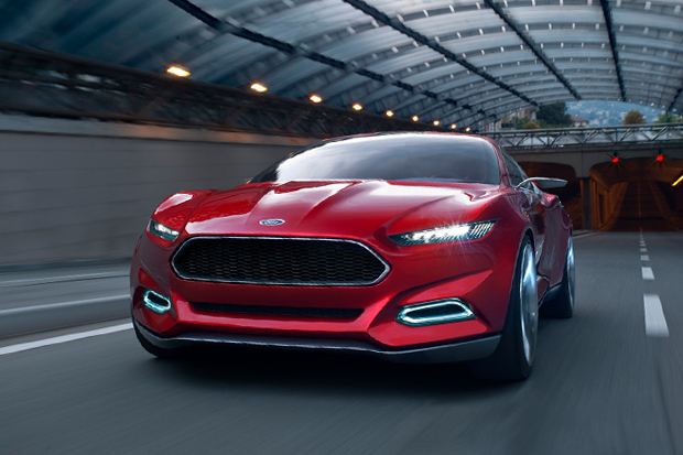 Ford EVOS Concept with SYNC-Controlled Apps