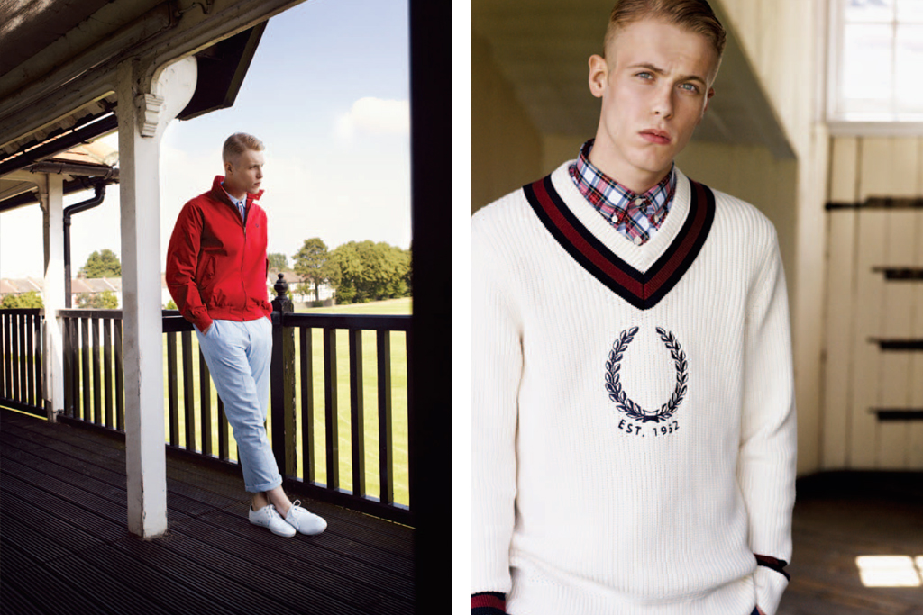 fred perry authentic 2012 springsummer collection