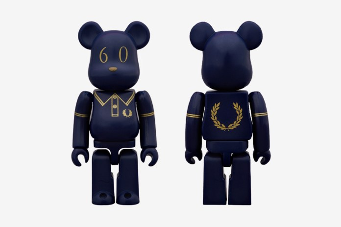 Fred Perry x Medicom Toy 60th Anniversary Bearbrick