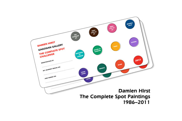 gagosian gallery damien hirst the complete spot challenge