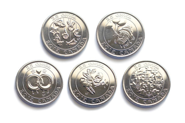 Gary Taxali x Royal Canadian Mint 2012 Collector's Coins