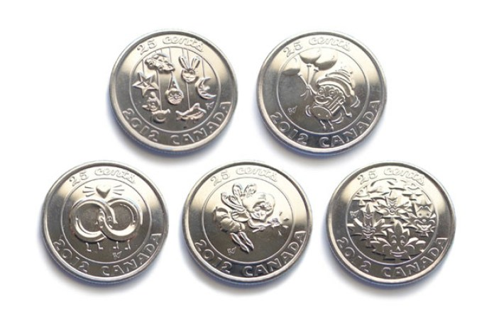 Gary Taxali x Royal Canadian Mint 2012 Collector's Coins