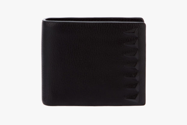 givenchy triangular detail wallet