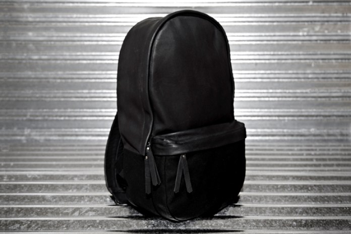 Haerfest Cowhide & Canvas Capsule Backpack
