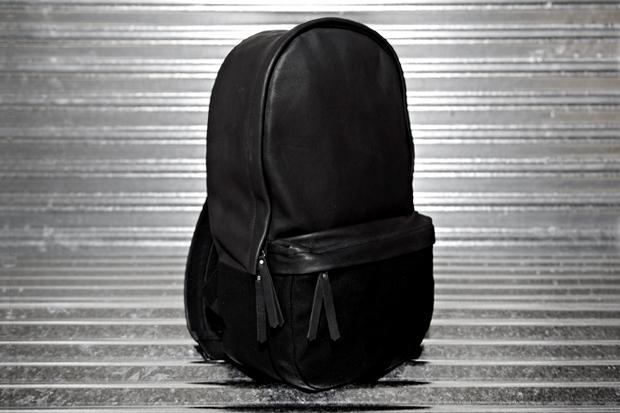Haerfest Cowhide & Canvas Capsule Backpack