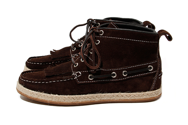 hobo 2012 Spring/Summer Suede 5 Hole Deck Shoes