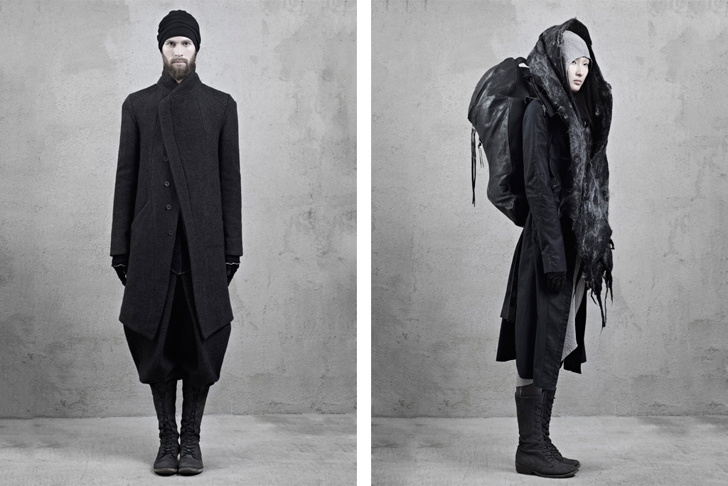 "InAisce 2012 Fall/Winter ""Pilgrim"" Collection Lookbook"