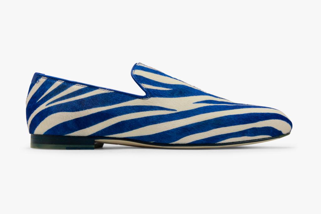 Jimmy Choo 2012 Spring/Summer Zebra Slip-On