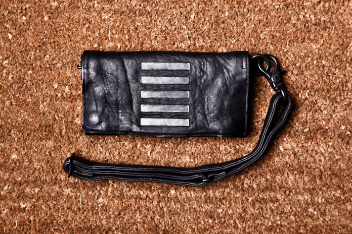 JULIUS Cowhide Long Wallet