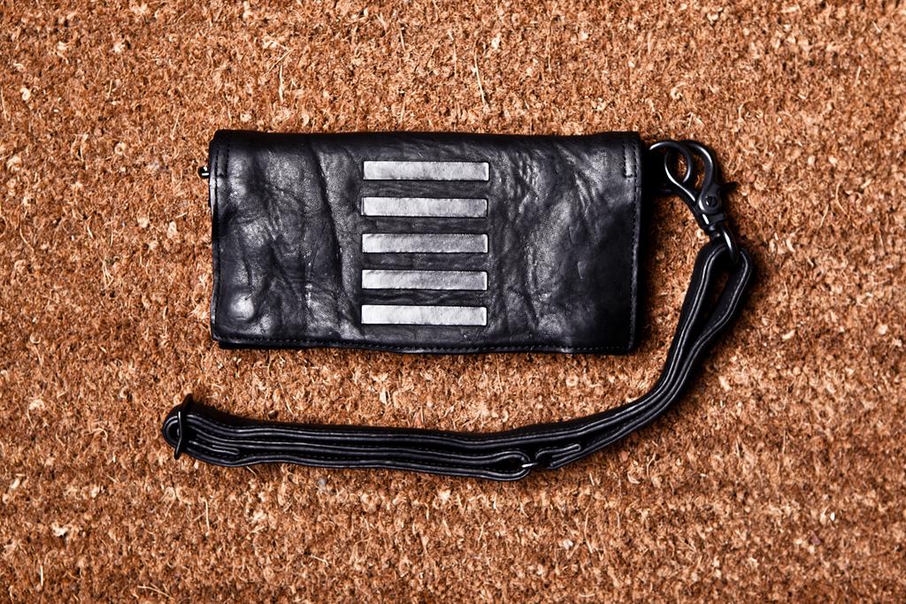 JULIUS Cowhide Long Wallet