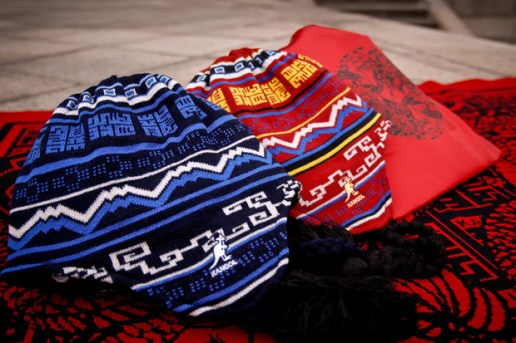 "Kangol ""Year of the Dragon"" Reversible Beanies"