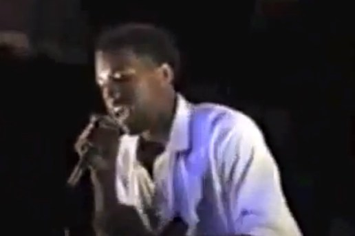 Kanye West Performing as a Teenager in Chicago 1996