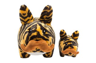 Kidrobot  Tiger Stache Labbit Plush