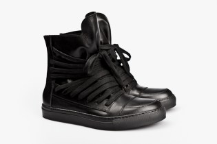 KRIS VAN ASSCHE 2012 Spring/Summer Leather Hi-Top Sneakers