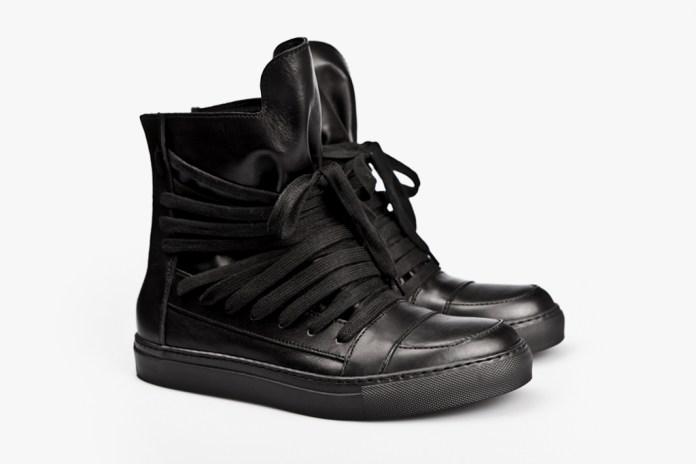 KRIS VAN ASSCHE 2012 Spring/Summer Leather Hi-Top Sneakers