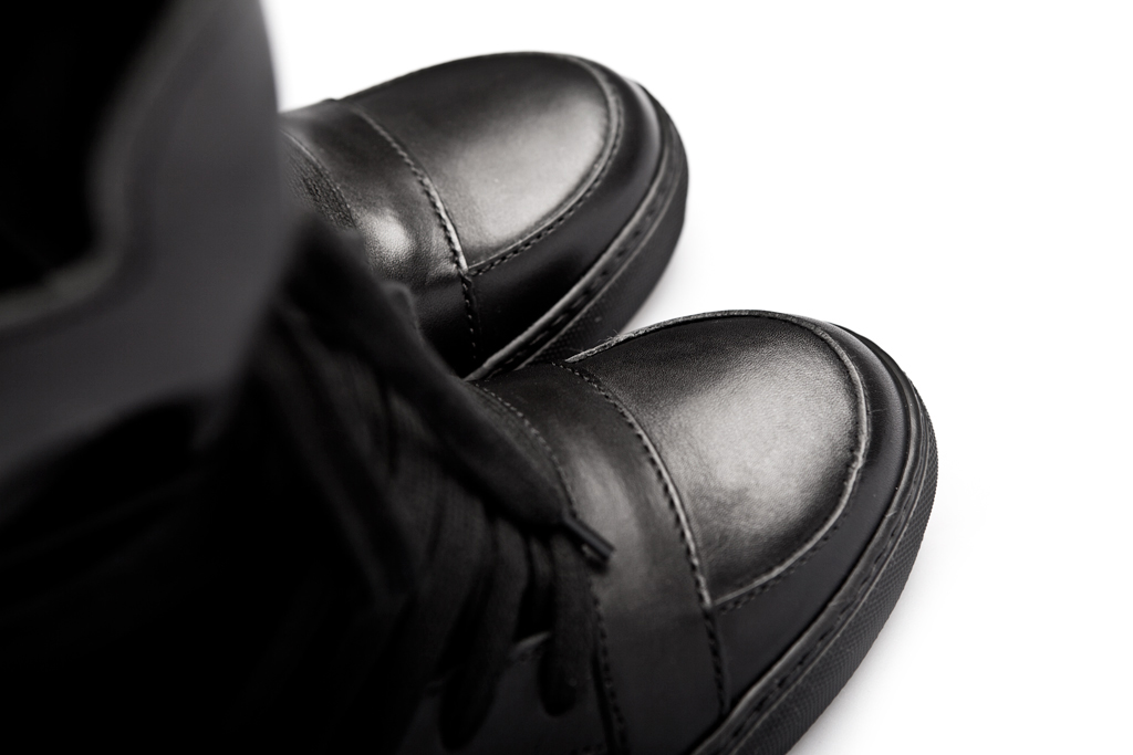kris van assche 2012 springsummer leather hi top sneakers