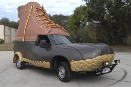 L.L.Bean: Making of the L.L.Bean Bootmobile