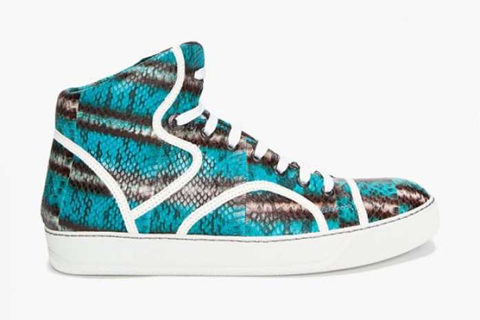 Lanvin Water Serpent Tennis Sneakers