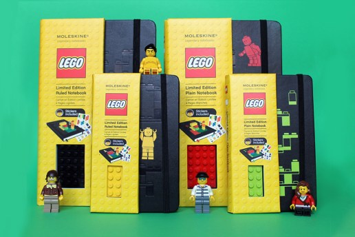 LEGO x Moleskine Notebooks Collection