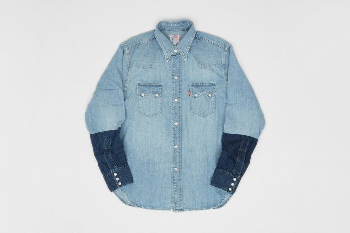 Levi's Vintage Clothing Customised Sawtooth Denim Shirt