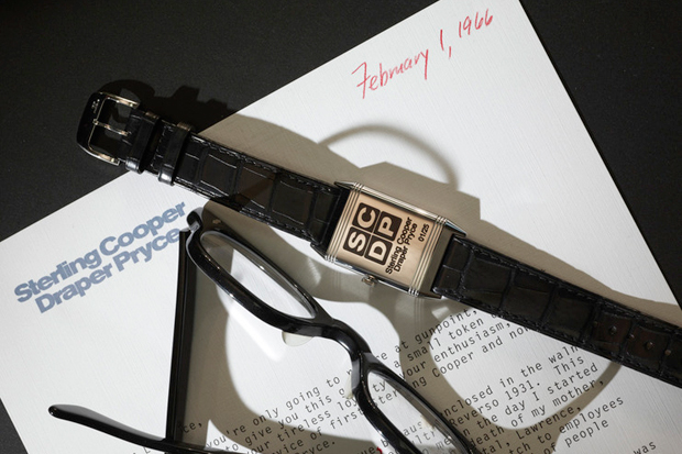 Mad Men Tribute Jaeger-LeCoultre Reverso Ultra-Thin Watch