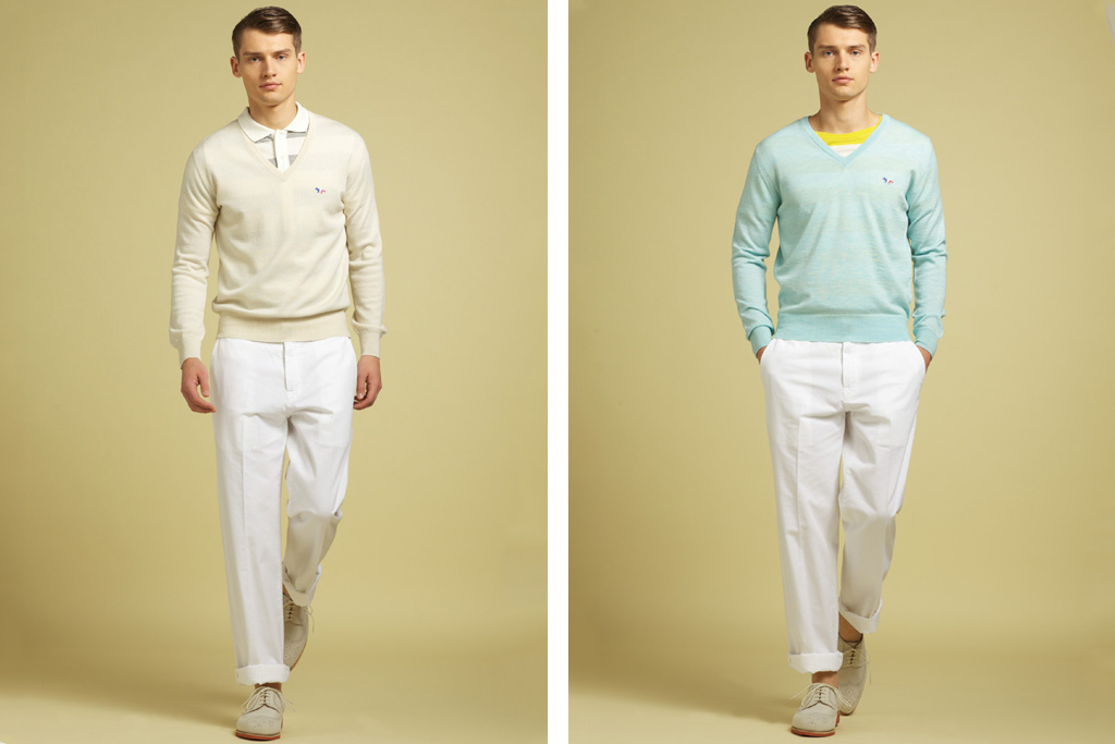 Maison Kitsune 2012 Spring/Summer Lookbook