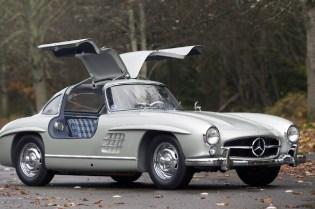 1955 Mercedes-Benz 300SL Alloy Sells for Record $4.62 Million