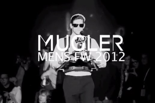 Mugler 2012 Fall/Winter Runway feat. Exclusive Track by Azealia Banks