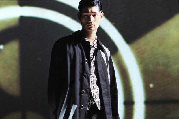 """N.HOOLYWOOD 2012 Spring/Summer """"TITLE BACK"""" Editorial by MEN'S NON-NO"""