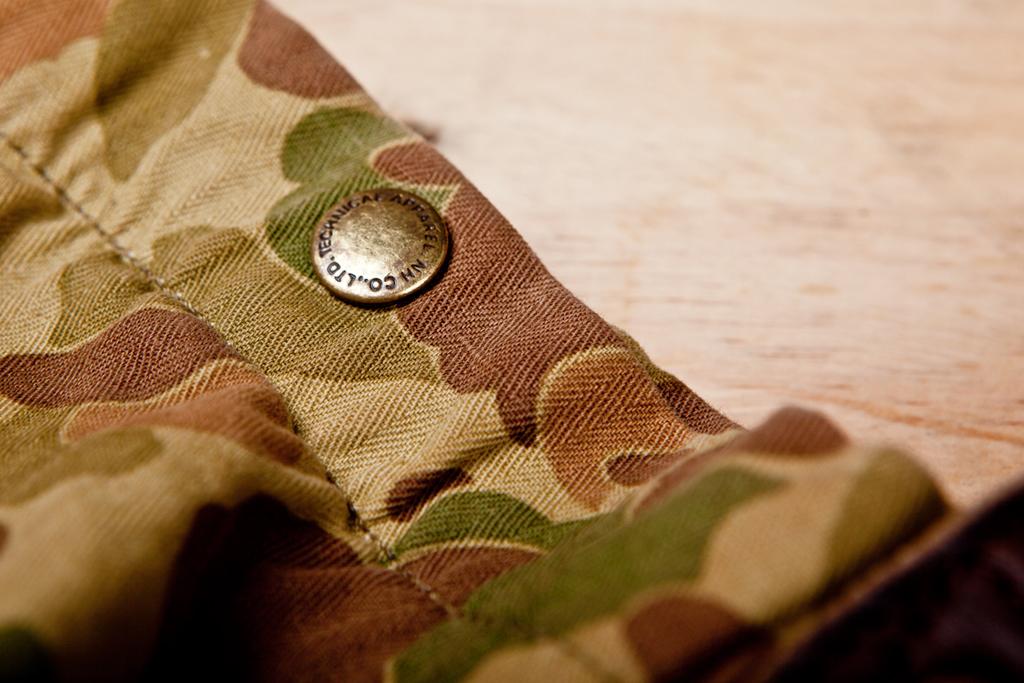 NEIGHBORHOOD x CHALLENGER Camouflage Tote Bag