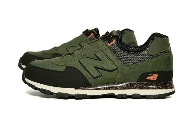 New Balance ML581AT Trail Green/Orange