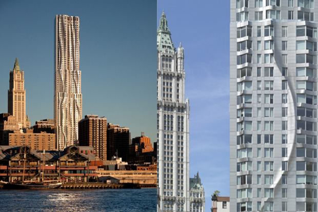 New York by Gehry