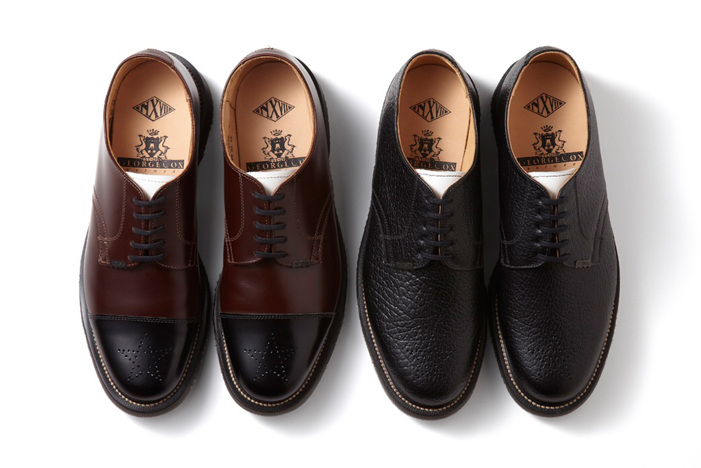 NEXUSVII x George Cox Officer Shoes