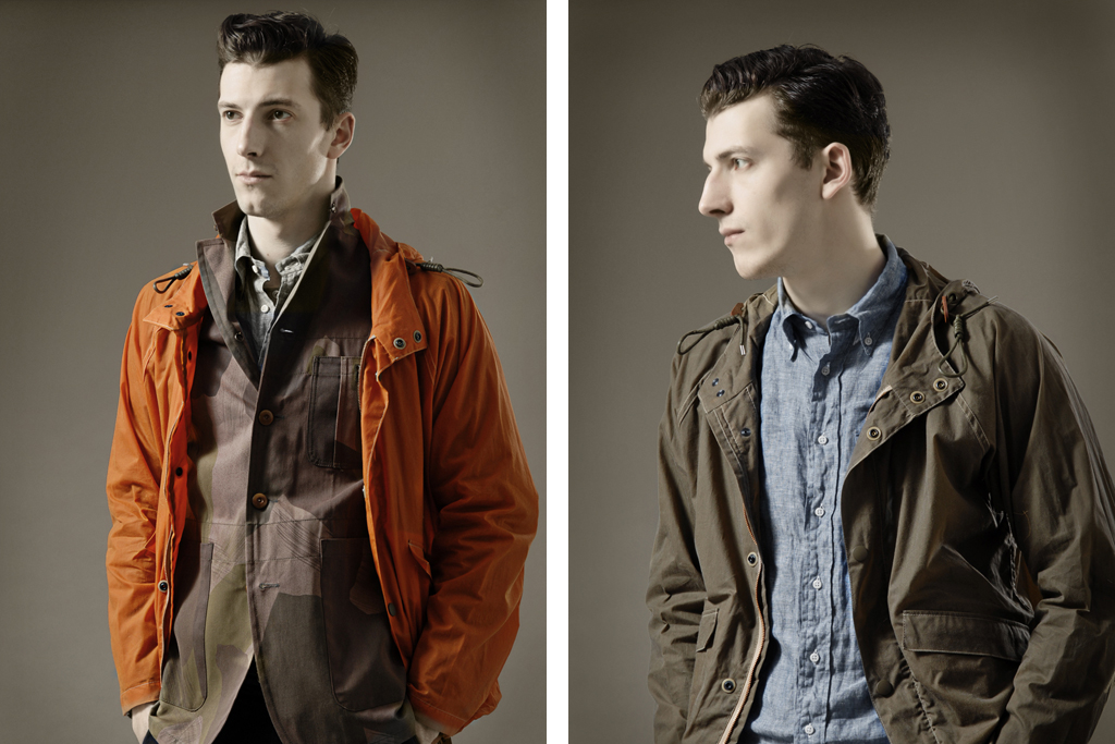 Nigel Cabourn 2012 Spring/Summer Collection
