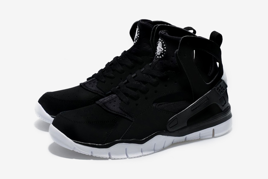 Nike 2012 Huarache Free Basketball Black/White