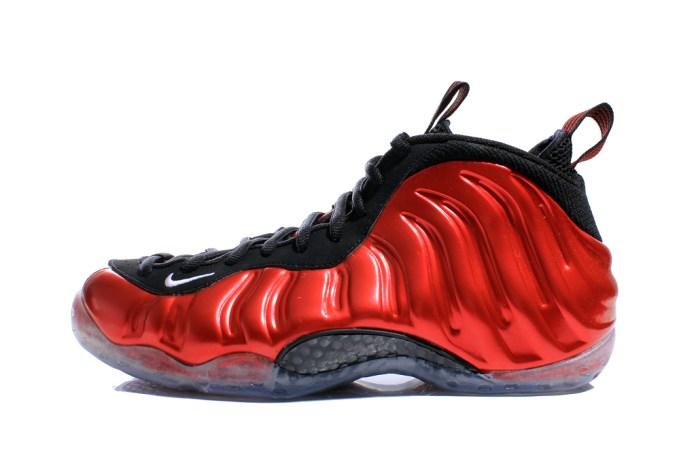 Nike Air Foamposite One Metallic Red