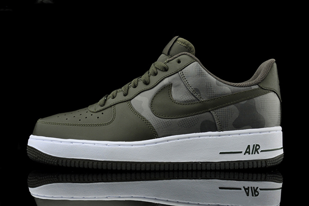 nike air force 1 dark camo