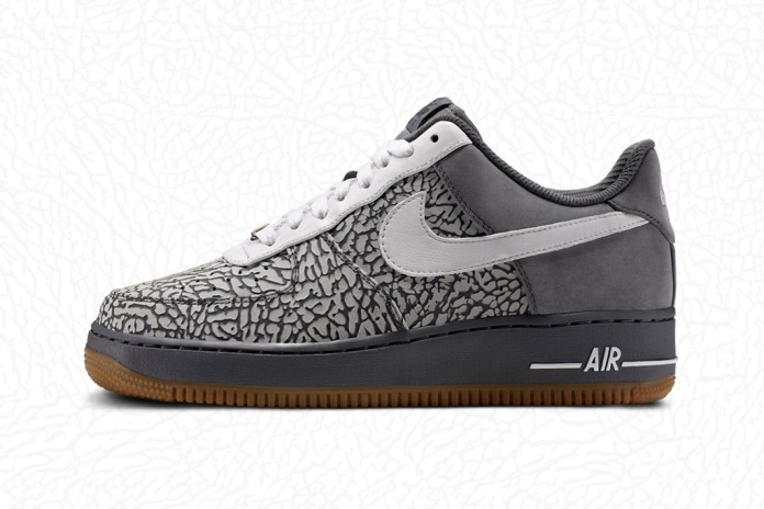 Nike Air Force 1 iD: Elephant Print Option