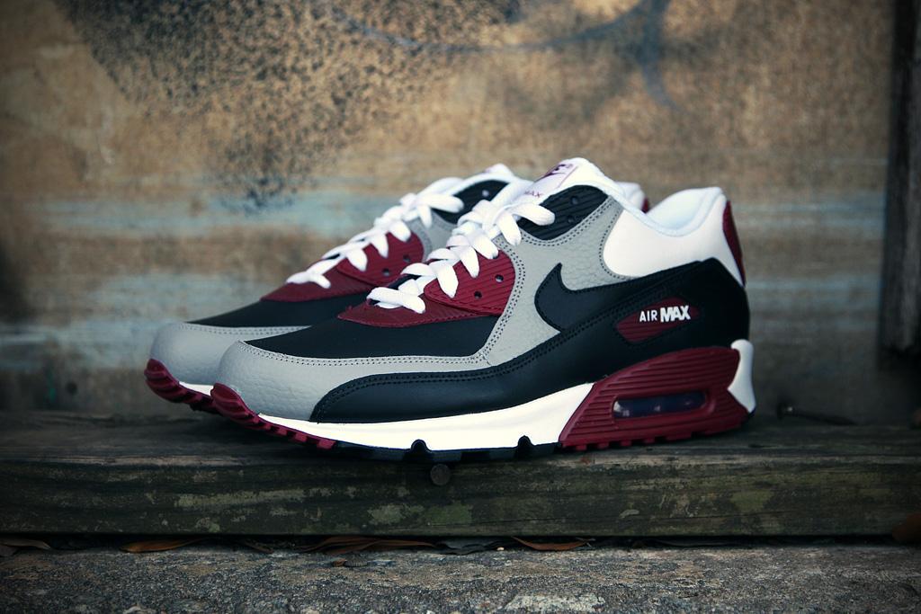 nike sportswear air max 90 medium gray
