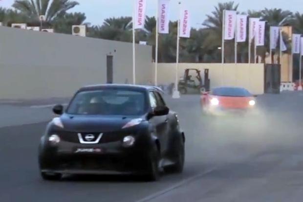Nissan Juke-R Street Race in Dubai Video