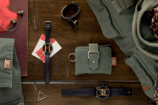 "Nixon 2012 Spring ""Tiger's Eye"" Collection"