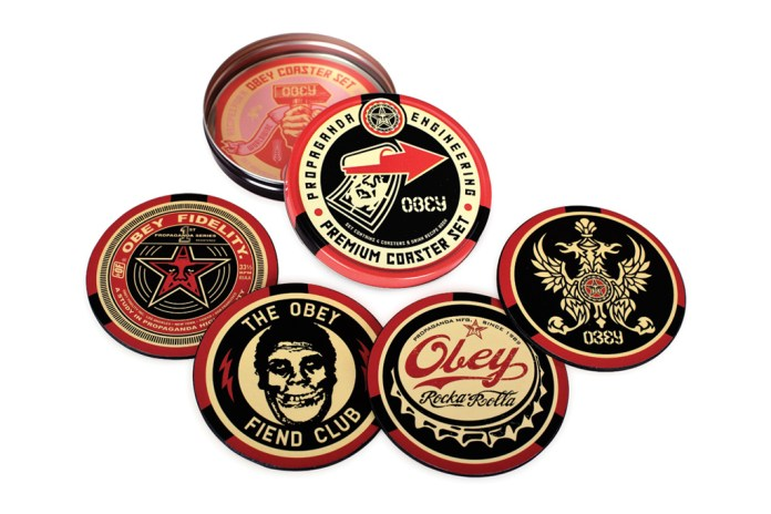 OBEY 2012 Coaster Set