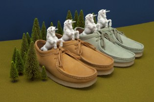Oi Polloi x Clarks Originals Unicorn Leather Wallabee Pack