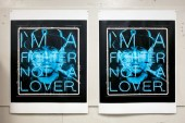 Patrick Martinez 'Hate and Love (Fighter)' Serigraph
