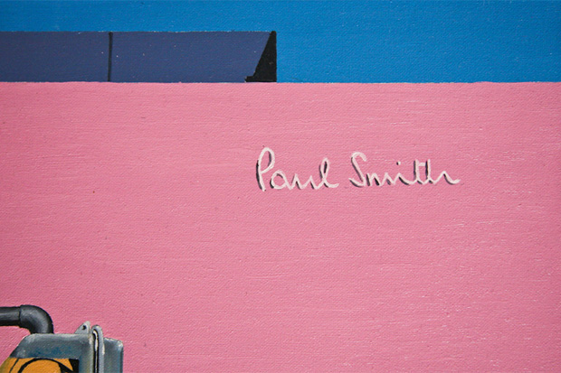John Tierney x Paul Smith Melrose Store Art Collection