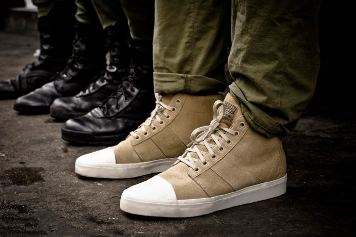 Ransom by adidas Originals 2012 Spring/Summer Army Trainer Mid
