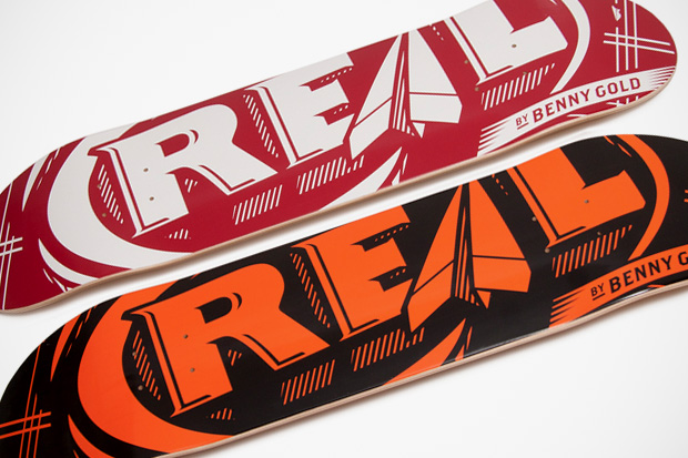 Benny Gold x REAL Skateboards Japan Exclusive Decks